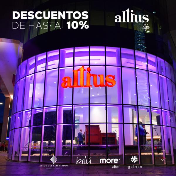 Promo inauguración Altius Life